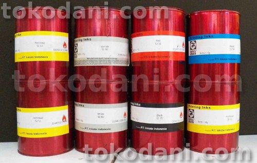 Tinta basis minyak merk EPI dan Royal Guard
