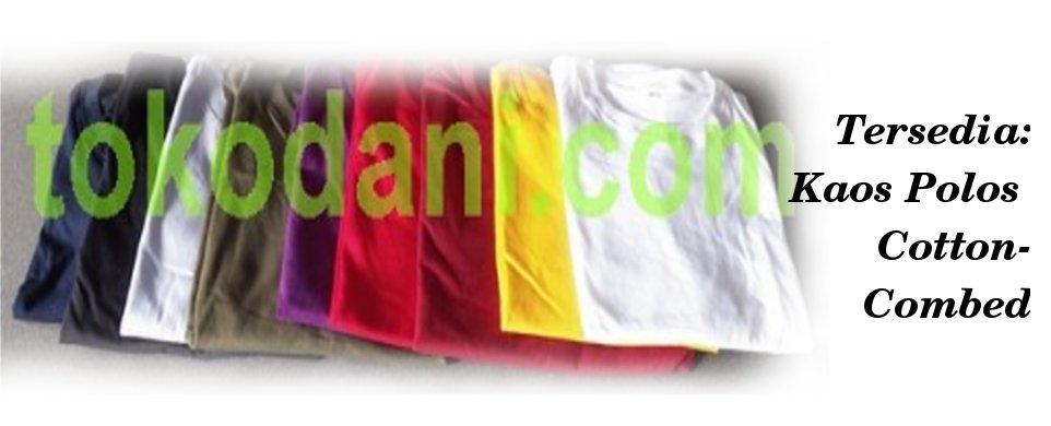 Tersedia Kaos Polos Combed