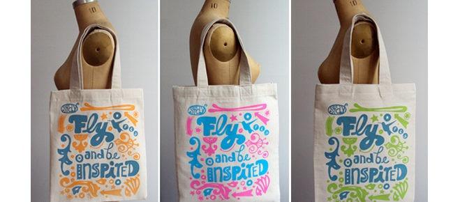 Pertanyaan Minggu Ini: Tinta untuk Tas Kanvas / Tas Sponbon (Tote Bags)