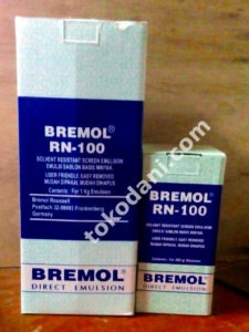 Obat Afdruk Bremol (Solvent Based Screen Emulsion)