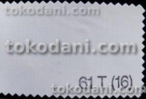 kain sablon atau screen printing nylon mesh No. 61T