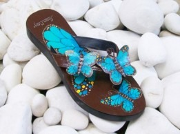 sandal-kulit-kupu-biru