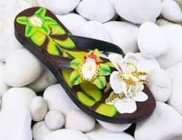 sandal-kulit-anggrek
